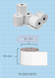 POS5515STD (Pack of 12 Rolls)